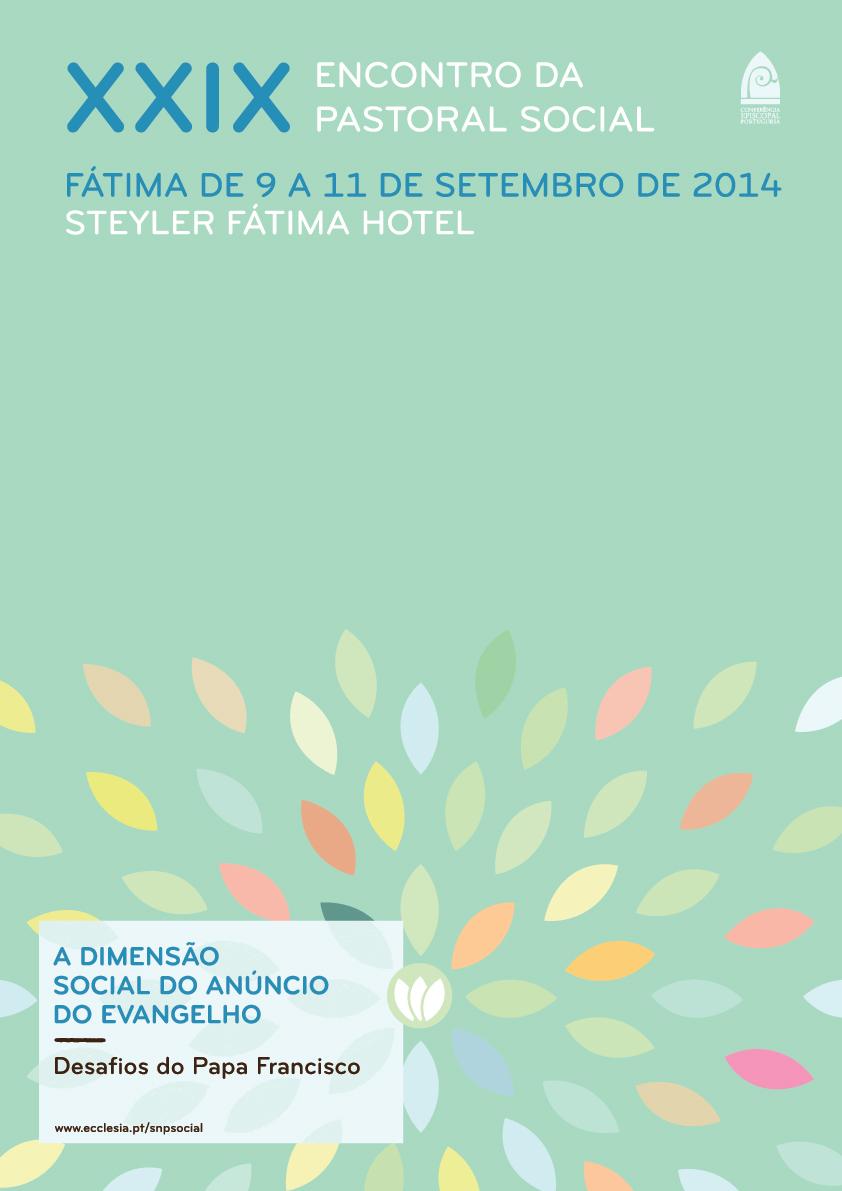 CARTAZ 1 Encontro Pastoral Social 2014