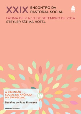 CARTAZ 2 Encontro Pastoral Social 2014