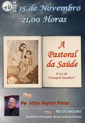 Cartaz A pastoral da saude Rio de Mouro 2014