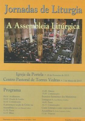 Cartaz Jornadas de Liturgia