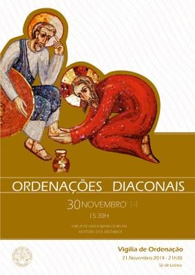 Cartaz ord Diaconal peq
