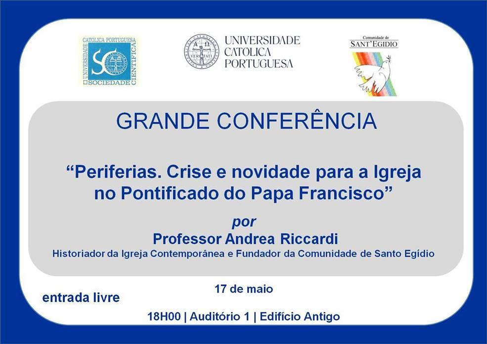 Conferencia Andrea Riccardi