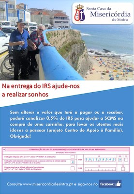 Cartaz Campanha IRS 18