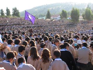 O Corpo Nacional de Escutas celebrou 91 anos