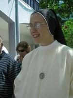 Leonor Wemans, Irmã Concepcionista, fez primeiros votos religiosos